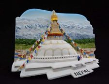 Buy 3D SCULPTURE FRIDGE MAGNET MEMORIAL BOUDDHANOTH STUPA NEPAL COLLECTIBLE SOUVENIR