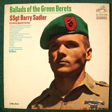 Buy SSGT. BARRY SADLER ~ Ballads Of The Green Berets 1966 LP