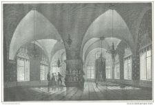Buy RUSSIA - APARTMENTS OF TEREM IN MOSCOW: THE GOLDEN HALL - engraving from 1872