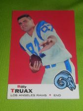 Buy VINTAGE BILLY TRUAX RAMS 1969 TOPPS #103 HIGH BOOK VALUE