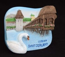 Buy 3D SCULPTURE FRIDGE MAGNET MEMORIAL LUZERN SWITZERLAND SOUVENIR COLLECTIBLE GIFT