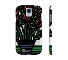 Buy Forden Blue Green Flowers Samsung Galaxy S4 Phone Case
