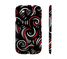 Buy Dato Red White Black Samsung Galaxy S3 Phone Case