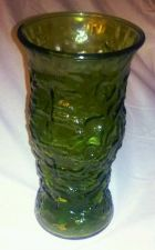 Buy EUC, E O BRODY CO. green glass vase