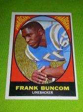 Buy VINTAGE FRANK BUNCUM CHARGERS 1966 TOPPS #166 GD/VG
