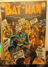 Buy BATMAN #214 DC COMICS VG+/Fine or better range 1969