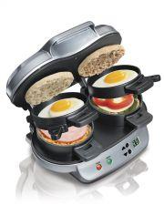 Buy NEW Hamilton Beach Breakfast Sandwich Maker English Muffin Toaster