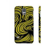Buy Groeschel Yellow Black Samsung Galaxy S5 Phone Case