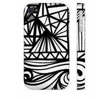 Buy Biondi Black White Iphone 4/4S Phone Case