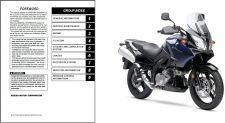 Buy 02-09 Suzuki DL1000 V-Strom Service Repair & Parts Manual CD .. DL 1000 VStrom