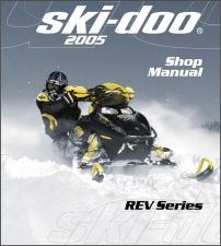 Buy 2005 Ski-Doo Rev Snowmobiles Service Repair Manual CD - BRP GSX GTX MX Z Summit