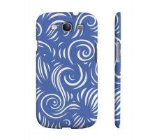 Buy Sebion Blue White Samsung Galaxy S3 Phone Case
