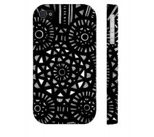Buy Maclay Black White Iphone 4/4S Phone Case