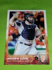 Buy MLB ANDREW SUSAC GIANTS SUPERSTAR 2015 TOPPS GLOSSY #232 GEM MNT