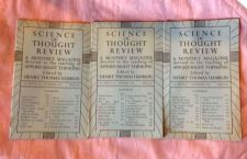 Buy SCIENCE OF THOUGHT REVIEW Applied Right Thinking Henry T. Hamblin Lot 1951