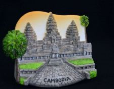 Buy 3D SCULPTURE FRIDGE MAGNET MEMORIAL PLACE ANCHOR WAT CAMBODIA COLLECTIBLE GIFT