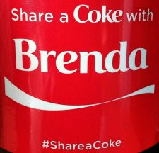 Buy 2015 Share a Coke With Brenda 20oz Collectible, Unopened Fast Shipping