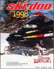 Buy 1998 Ski-Doo Grand Touring - Formula III - Mach 1 Service Repair Shop Manual CD
