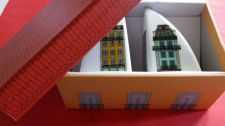Buy Salt and Pepper shakers - Little Houses - Ceramic Set. Shipped in Gift Box