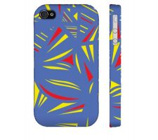 Buy Jean Yellow Red Blue Iphone 4/4S Phone Case