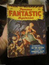 Buy Famous Fantastic Mysteries Aug. 1950 PULP MAGAZINE 1st print Siodmak, H.G. Wells