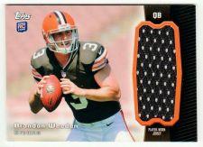 Buy NFL 2012 Topps Brandon Weeden Jersey MNT