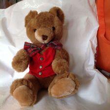 Buy Schmid Gordon Fraser Plush Christmas Musical Bear 1984