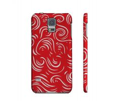 Buy Manzer Red White Samsung Galaxy S5 Phone Case