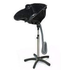 Buy Portable Shampoo Basin Height Adjustable Hair Treatment Bowl Black Salon Tool