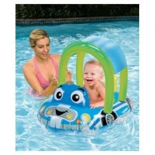 Buy NEW Cozy Car Float Seat with Canopy, SAFE WATERPLAY FOR TODDLER BABY