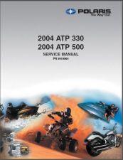 Buy 2004 Polaris ATP 330 / ATP 500 ATV Service Repair Manual CD - ATP330 ATP500