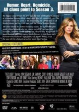 Buy The Closer third season 3 three DVD 4 Disc BOXED SET Kyra Sedgwick J.K. Simmons