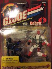 Buy G.I. Joe vs Cobra Snake Eyes and Storm Shadow