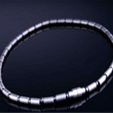 Buy ELECTRIFIED FEEL BETTER EJNP-P061 Titanium Necklace with 39 Health Magnets