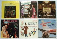 Buy ARTHUR FIEDLER & THE BOSTON POPS ~ Lot of ( 6 ) Pop / Orchestra LPs