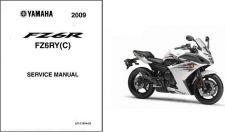 Buy 09-13 Yamaha FZ6R Fazer Service Repair Manual CD .. FZ6 FZ 6 R 6R