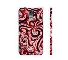 Buy Taliulu Red White Black Samsung Galaxy S5 Phone Case