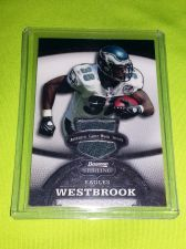 Buy NFL 2008 BOWMAN STERLING BRIAN WESTBROOK GAME WORN JERSEY /389 MNT