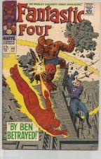 Buy Fantastic Four #69 Marvel Comics Jack Kirby Stan Lee 1967 1st print & series
