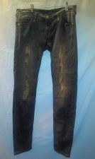 Buy EUC women's sz. 4 Style & co. black Tummy control straight leg denim jeans