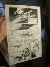 Buy Darkest Knight GREEN LANTERN Excellent Original Comic Art Jerry Bingham SINESTRO