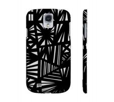 Buy Skomsky Black White Samsung Galaxy S4 Phone Case