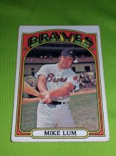 Buy VINTAGE MIKE LUM BRAVES 1972 TOPPS #641 CARD GD