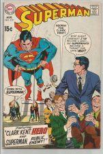 Buy SUPERMAN #219 DC COMICS 1970 Silver Age Fine/+ or better