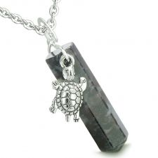 Buy Amulets Love Couple Howling Wolf Wild Moon Blue Goldstone Simulated Opalite Pendant N