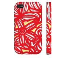 Buy Slessman Yellow Red Iphone 4/4S Apple Phone Case Flowers Botanical