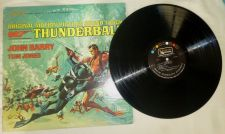"Buy 007 THUNDERBALL ""ORINGINAL MOTION PICTURE SOUND TRACK"" 12"" LP 1965 TOM JONES EX"