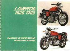 Buy 73-82 Laverda 1000 / 1200 Service Workshop Manual CD .. Manuale di Riparazione