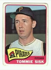 Buy VINTAGE 1965 TOPPS TOMMY SISK # 558 PIRATES NICE