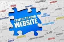 Buy I will drive UNLIMITED genuine real traffic to your website for one month